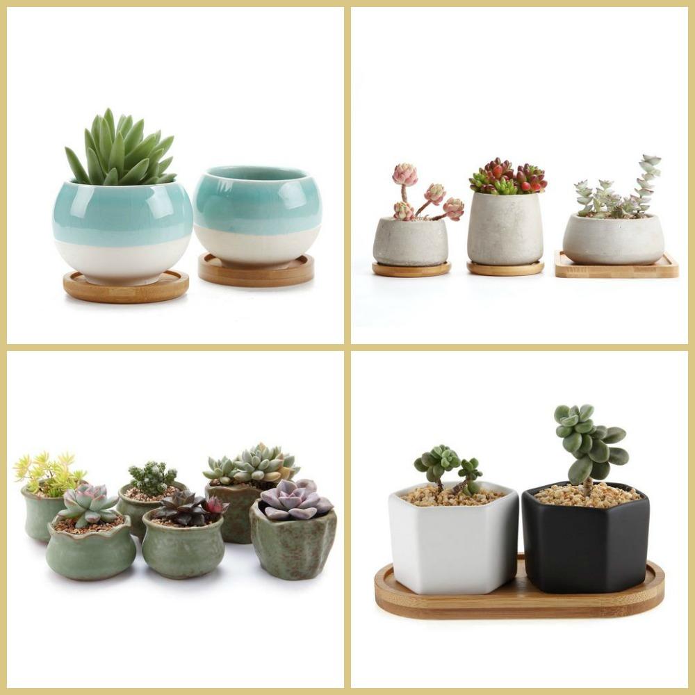 Peque as macetas decorativas para peque as plantas suculentas for Macetas pequenas
