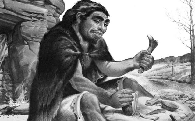 pada sebuah goa yang terletak di bersahabat La Chapelle Ahli Sejarah Menemukan Manusia Kuno