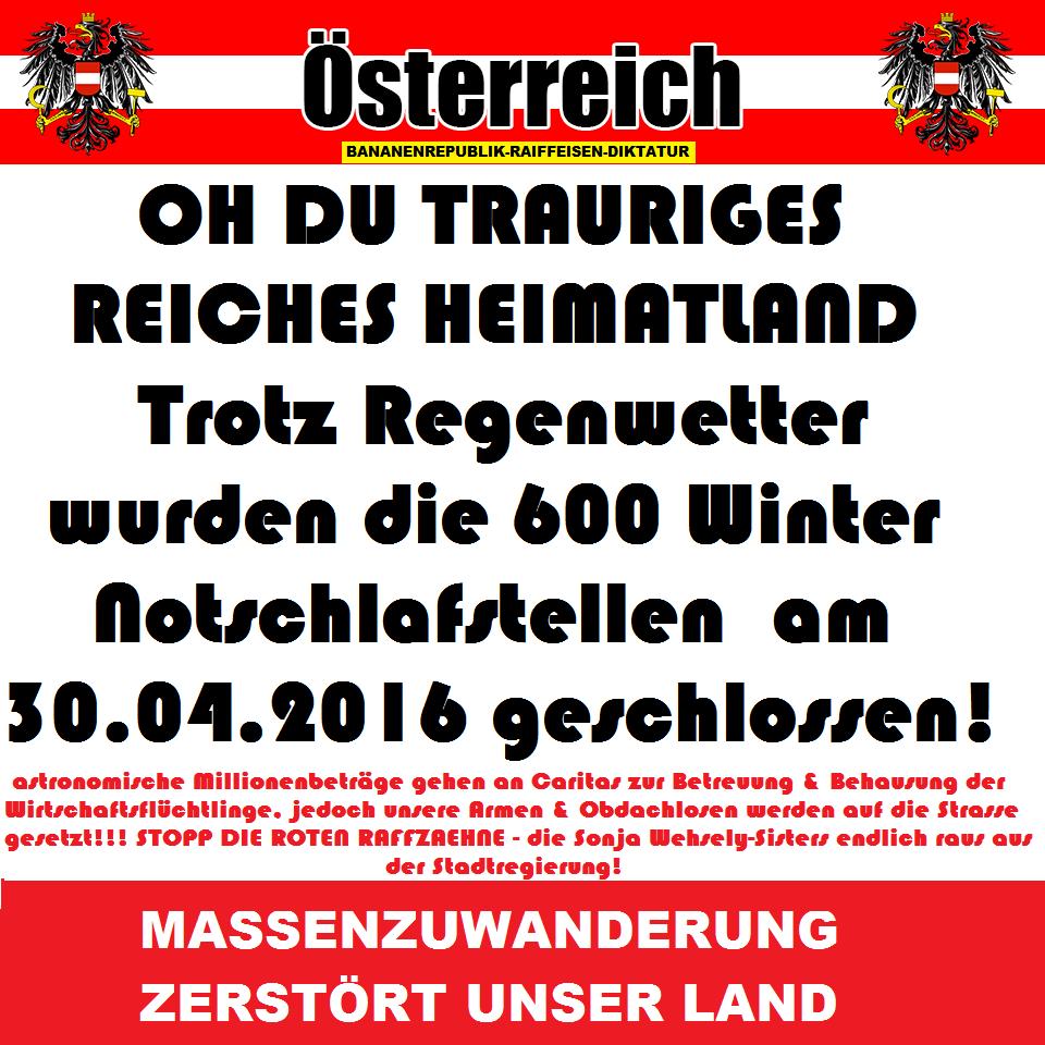 Armut - #Arbeitsmarkt - #Obdachlose Österreicher - #Sozialtragödien ...