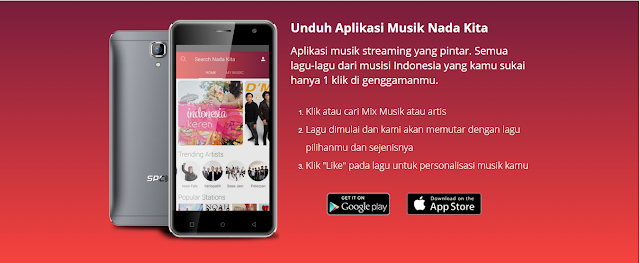 Streaming Lagu Indonesia Dengan Aplikasi Nada Kita Tanpa Kuota