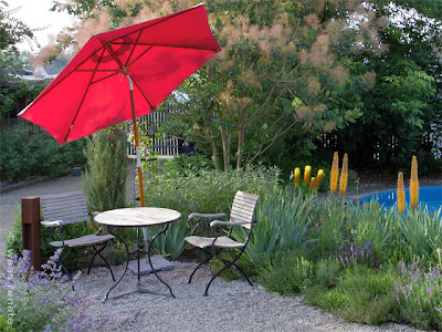 Gartenplanung, Raumbildung, Blickachsen