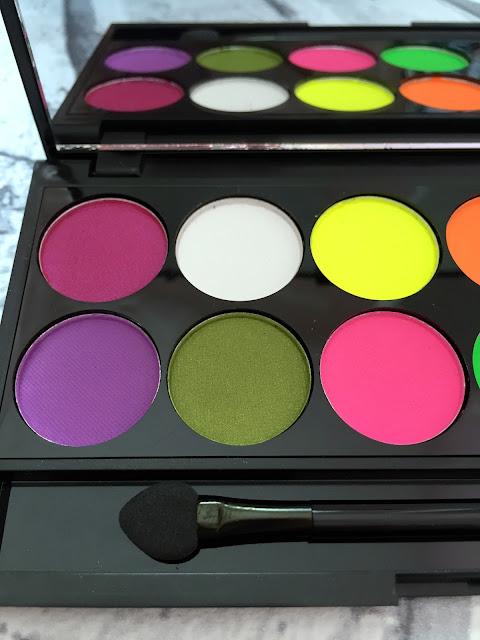 Sleek Acid Palette