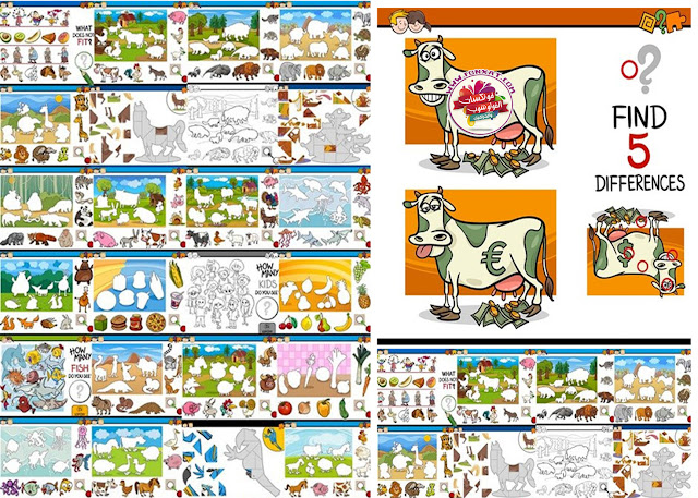 Download images, vector drawings of education for children