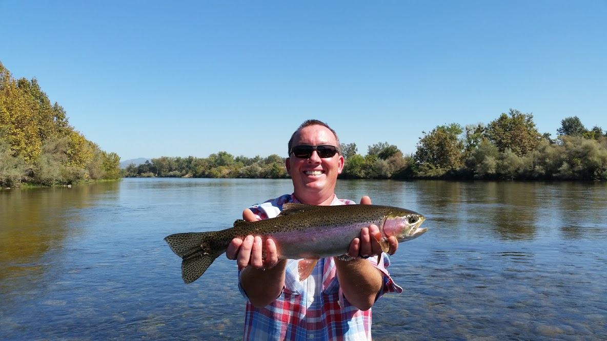 Nor cal fly guides fly fishing report fall fishing report for Feather river fishing report