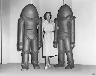 Earth vs the Flying Saucers 1956 alien costume