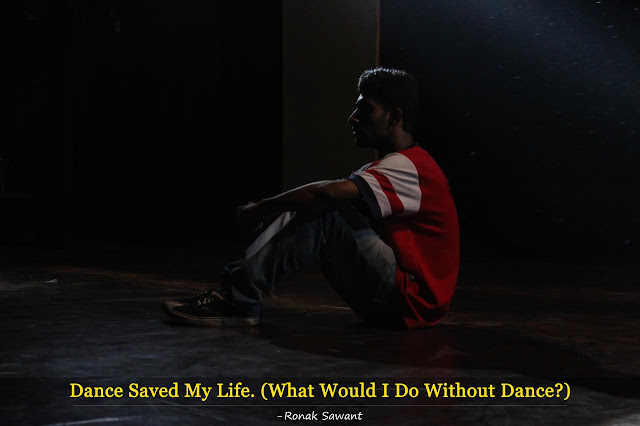 Cover Photo: Dance Saved My Life - Ronak Sawant