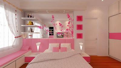 10 Kamar Tidur Bernuansa Pink Terbaru 2016