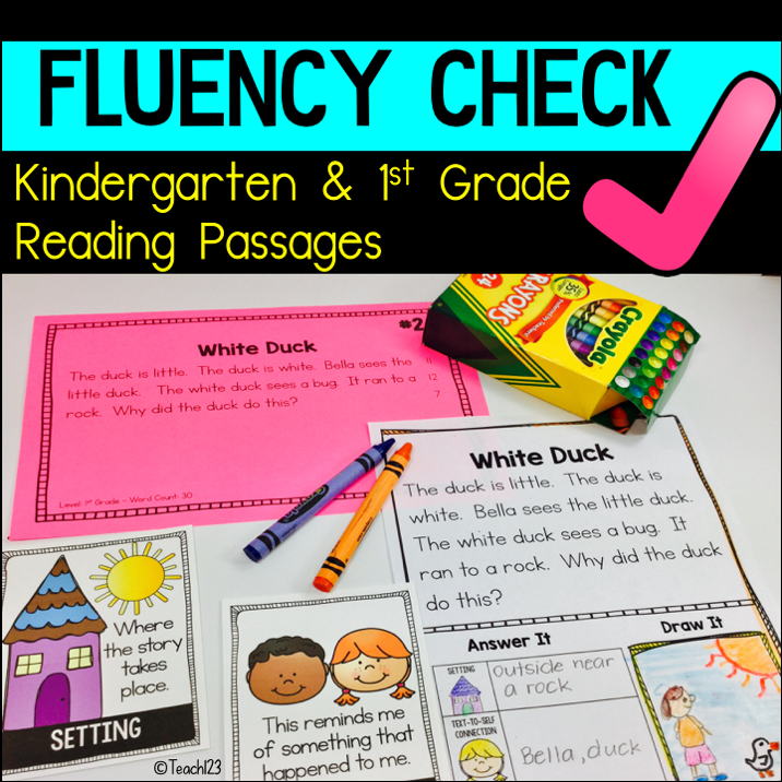 K/1 Comprehension & Fluency