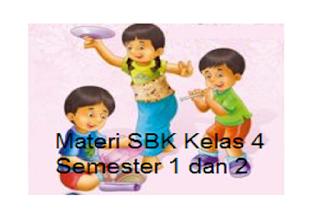 Materi SBK Kelas 4 Semester 1 dan 2