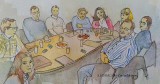 Imagen de un grupo de discusión