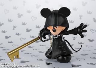 S.H.Figuarts Mickey Mouse de Kingdom Hearts II - Tamashii Nations