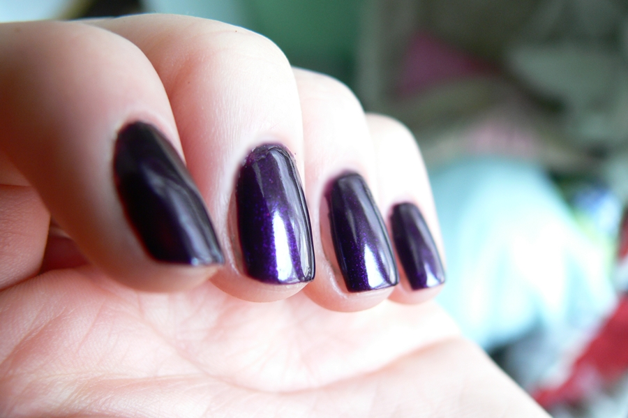 Avon Gel Finish Perfectly Plum śliwka