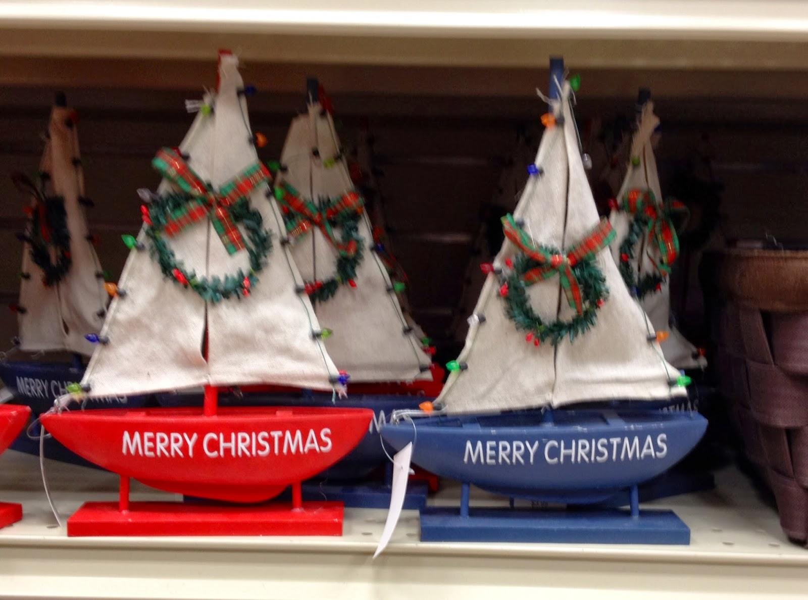 Nautical Christmas Theme.Maryland Pink And Green Nautical Christmas Decor