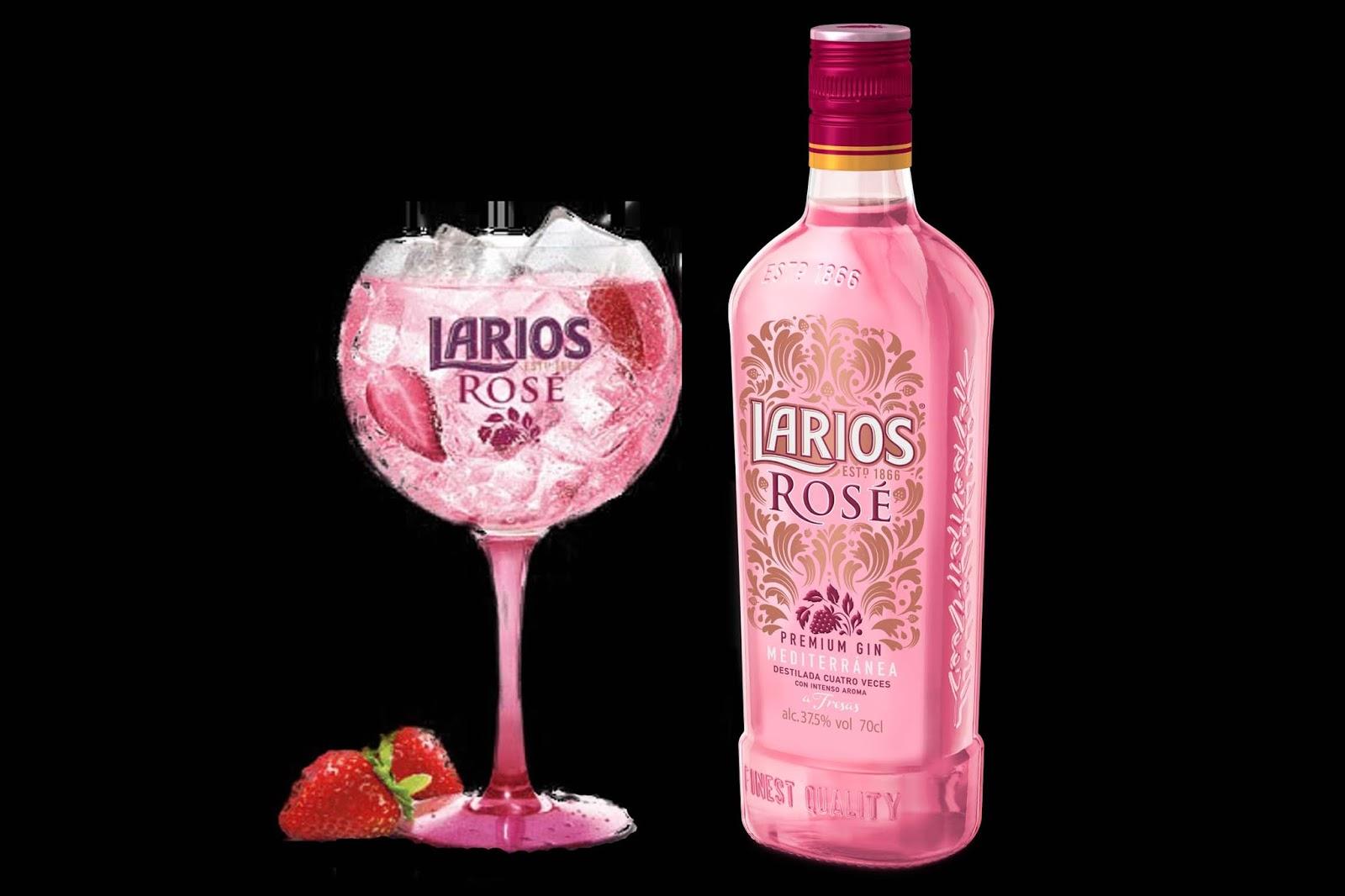 Larios Rose Gin