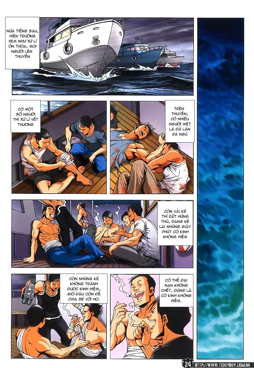 Người Trong Giang Hồ chapter 1861: kết thúc này bắt đầu khác trang 22