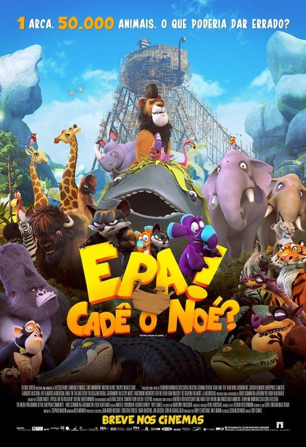 Epa! Cadê o Noé? – Dublado (2015)