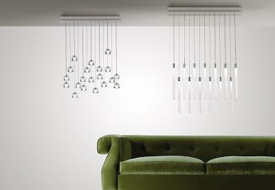 Lampadari moderni e di design.
