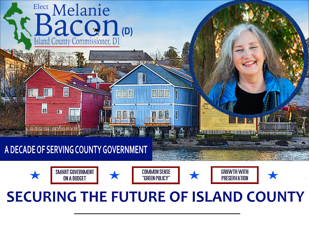 Melanie Bacon for Commissioner, District 1, Whidbey Island