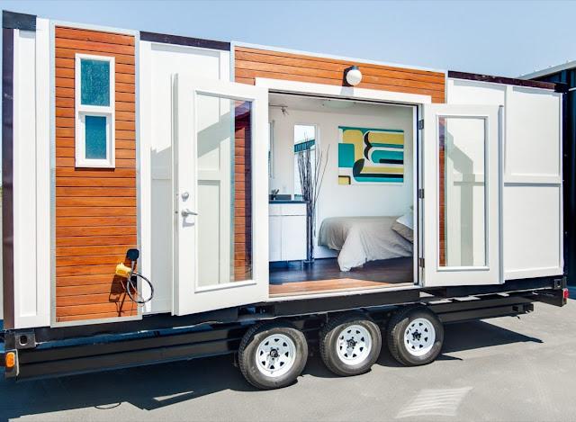Beberapa pilihan desain kreatif Shipping container