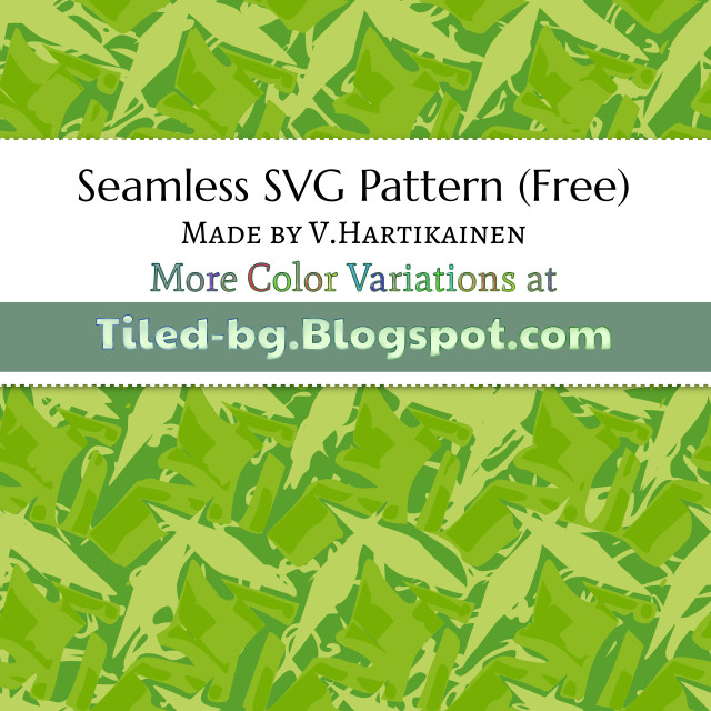 seamless green vector pattern