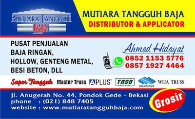 Distributor Atap Spandek Lengkung Jakarta dan Sekitarnya