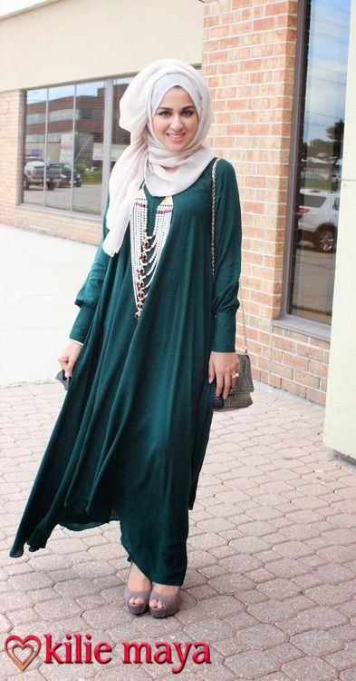 Maxi Hijab Dress Style Fashion