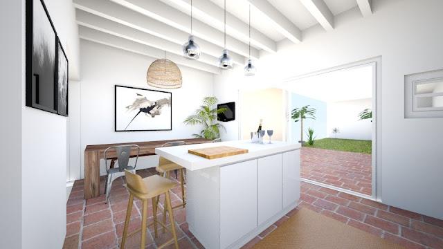 el nuevo hogar de galiana street cocina