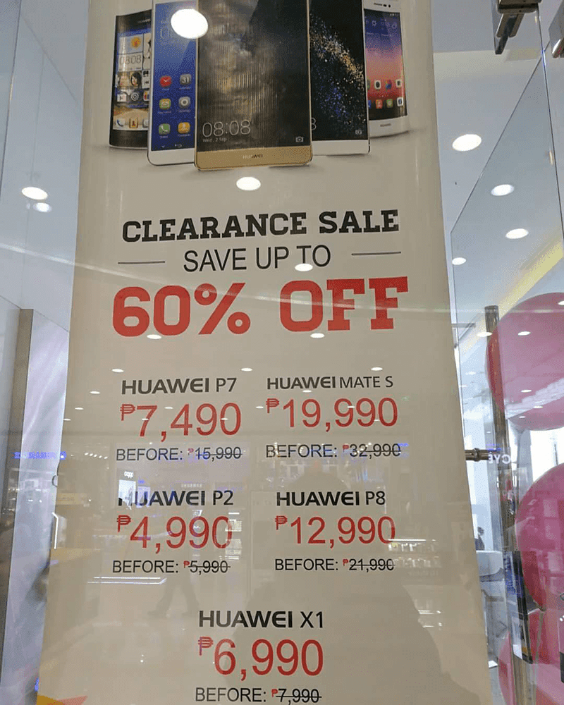 was 1 of the nearly impressive smartphone inwards the footing Sale Alert: Huawei P8 At MOA Is Down To PHP 12990!