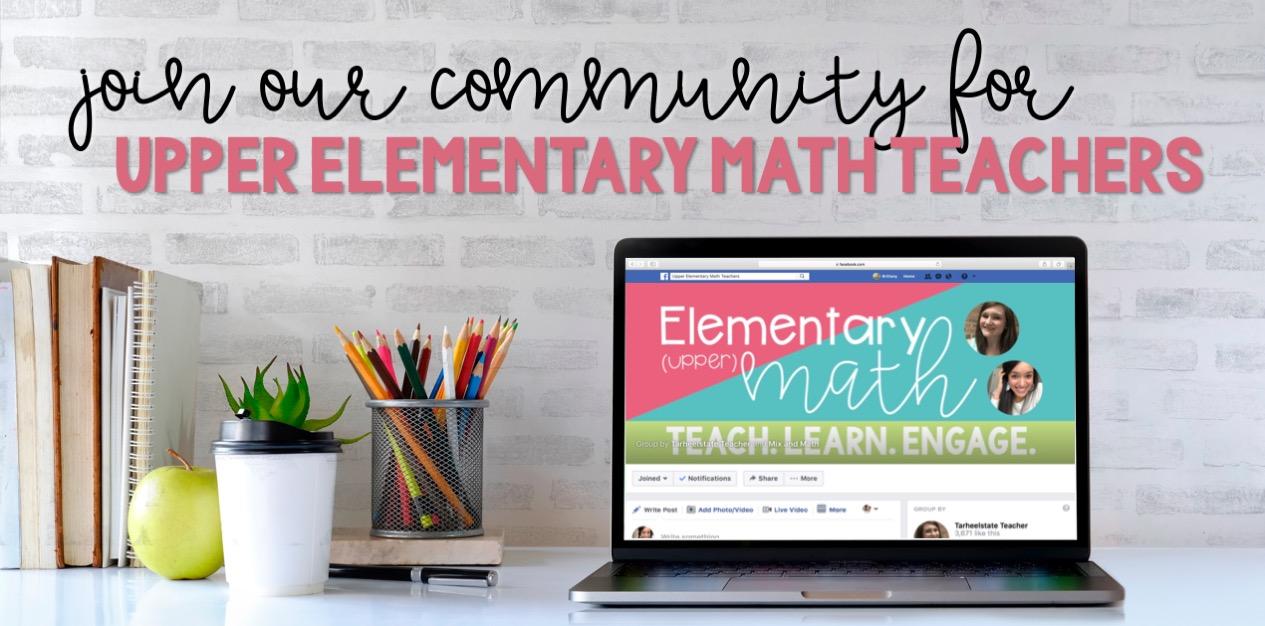 A Community for Upper Elementary Math Teachers - Mix and Math