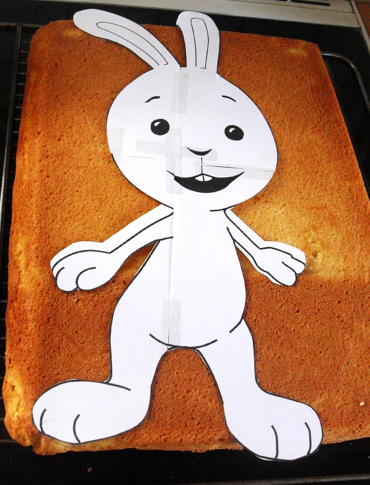 Sanna´s Hexenküche: Kikaninchen Kuchen zum 3. Geburtstag