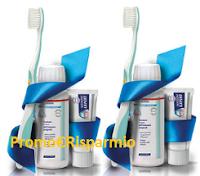 Logo Kit spazzolino, dentifricio e collutorio in omaggio: scopri come riceverlo