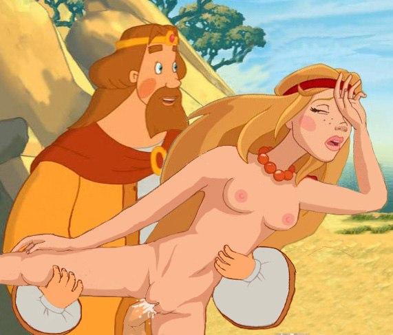 фото три богатыря секс