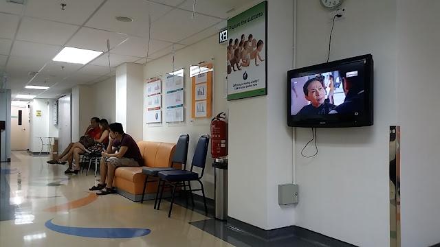 Ruangan IVF di Lam Wah Ee Hospital Penang Malaysia