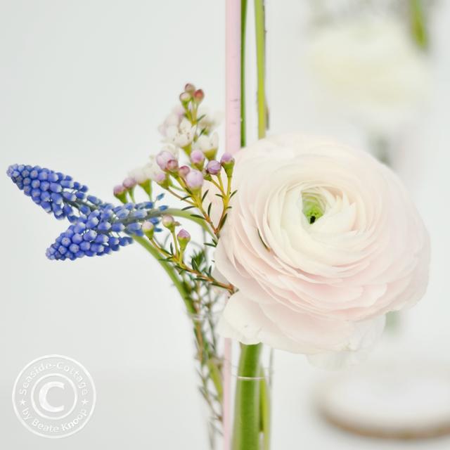 Anleitung dekorieren mit Blumen