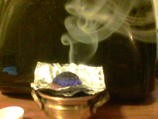 Dark Thoughts: How To Burn Powder Incense Without A Self
