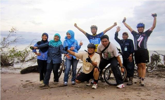 Gowes Pantai Tanjung Limau tahun 2012