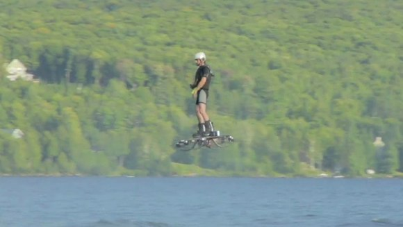 hoverboard flight