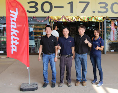 Makita Tools authorized sales Buriram Thailand
