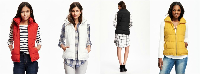 Old Navy Quilted Frost Free Vest $16 (reg $33)