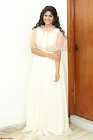 Megha Akash in beautiful Cream Transparent Anarkali Dress at Pre release function of Movie LIE ~ Celebrities Galleries 047.JPG