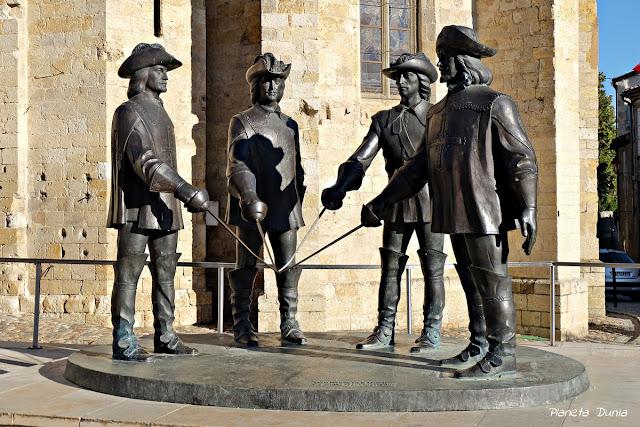 D'Artagnan y los 3 mosqueteros