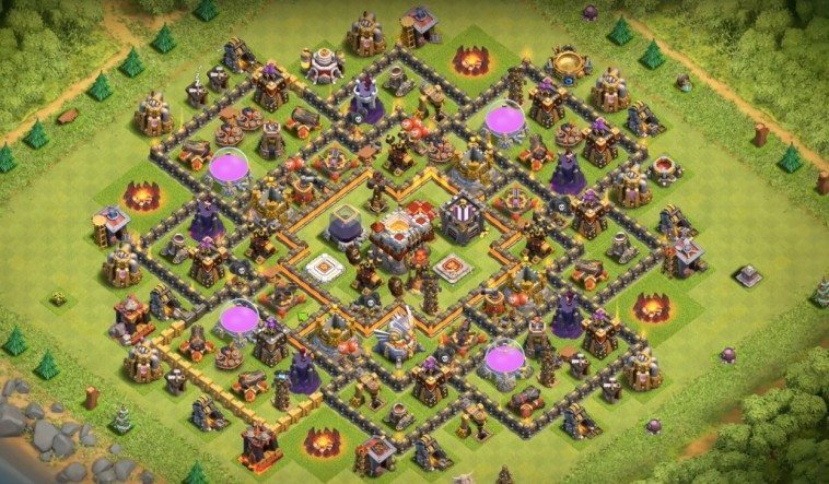 Base Farming TH11 Dark Elixir