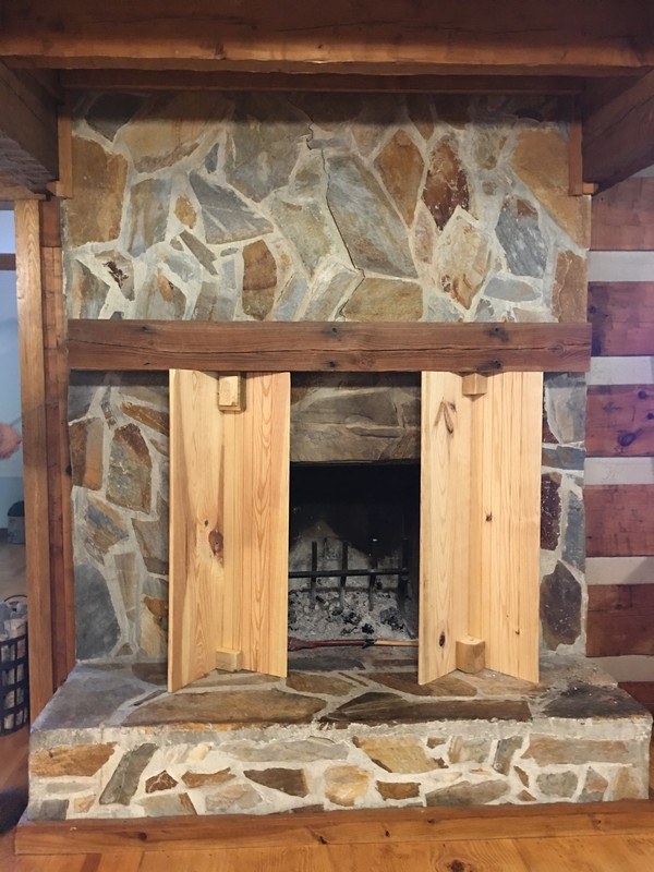 support-install-antique-reclaimed-beam-mantel