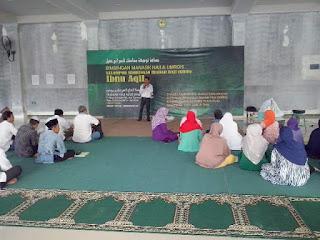 Edukasi Kesehatan Kepada Calon Jamah Haji KBIH Ibnu Aqil Bersama Susu Haji Sehat Bulan Juni 2016 Bogor Jawa Barat
