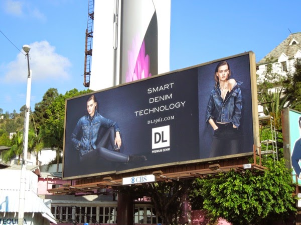DL 1961 Smart Denim Technology billboard