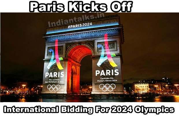 Paris Kicks Off International Bidding For 2024 Olympics