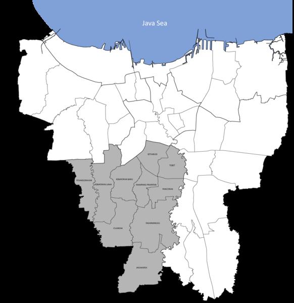 Kode Pos Jakarta Selatan - Kode Pos Indonesia