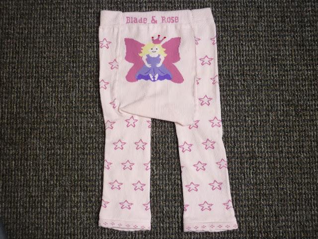 blade and rose fairy leggings