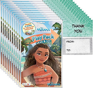 Moana party favor ideas