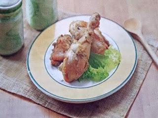 Gambar Resep Ayam Panggang Bumbu Putih